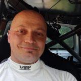 Franco Cheli al Rally Città di Pistoia con i colori Kappaerre